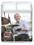 Levon Helm Band Duvet Cover