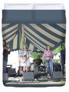Levon Helm's Dirt Farmer Band Duvet Cover