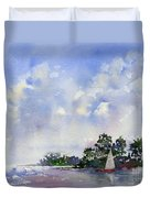 Leeward The Island Duvet Cover