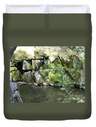 Lewis Creek Trail Duvet Cover
