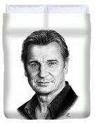 Liam Neeson Duvet Cover