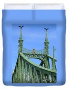 Liberty Bridge Budapest Duvet Cover
