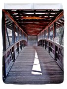 Liberty Bridge Swan Lake Duvet Cover
