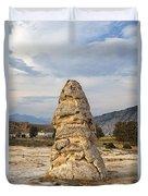 Liberty Cap In Yellowstone Duvet Cover