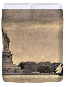 Liberty Enlightening The World Duvet Cover