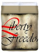 Liberty Freedom Duvet Cover
