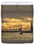 Liberty Sailing  Duvet Cover