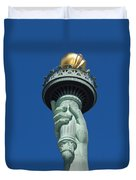 Liberty Torch Duvet Cover by Brian Jannsen