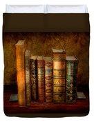 Librarian - Writer - Antiquarian Books Duvet Cover