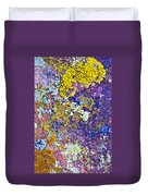 Lichen Abstract Duvet Cover