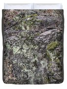 Lichen And Moss Duvet Cover