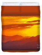 Lickstone Gap Sunset 5 Duvet Cover
