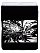 Licorice In Abstract Duvet Cover