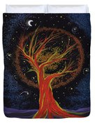 Life Blood Tree By Jrr Duvet Cover by First Star Art