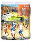 Life In Cartagena 01 Duvet Cover