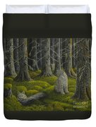 Life In The Woodland Duvet Cover