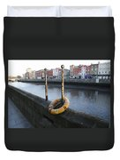 Life Saver -  Swiffey River - Dublin Ireland Duvet Cover