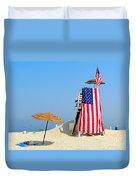 Lifeguard 9-11 Tribute Duvet Cover