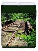 Life's Journey Duvet Cover