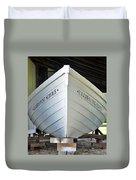 Lifesaving Boat Duvet Cover