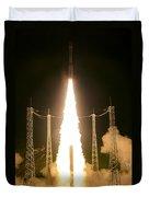 Liftoff Of Vega Vv06 With Lisa Duvet Cover