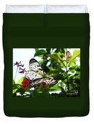 Light And Butterfly Duvet Cover