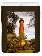 Light At Currituck Duvet Cover