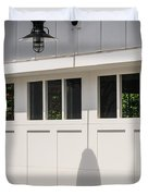 Light Fixture Abstract Duvet Cover