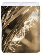 Light In The Moss Duvet Cover