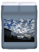 Light In The Sky Duvet Cover