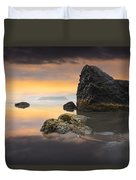 Light In The Storm Duvet Cover