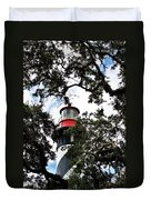 Light In The Trees Duvet Cover