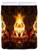 Light My Fire Duvet Cover