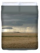 Light Near The End Of The Storm Duvet Cover