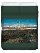Light Of The Lord Duvet Cover