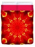 Light On A Tulip 2 Duvet Cover