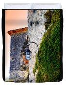 Light On Old Wall Duvet Cover