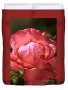 Light On Rose Duvet Cover