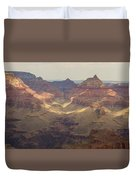 Light On The Canyons Duvet Cover