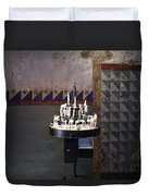 Light One Candle Duvet Cover