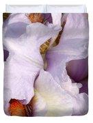 Light Purple Irises 2 Duvet Cover