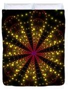 Light Show Abstract 3 Duvet Cover