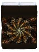 Light Spiral Duvet Cover
