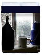 Light Through The Window Duvet Cover