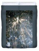 Light Throught The Trees Duvet Cover