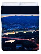 Light Time On Donau Duvet Cover