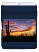 Light Up The Sky Southwest Style  Duvet Cover