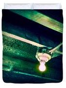 Lightbulb And Cobwebs Duvet Cover