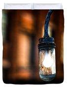 Lightbulb Bates Mill #5 Duvet Cover