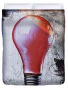 Lightbulb Duvet Cover